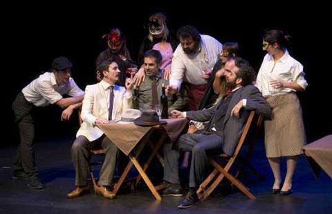 Resultado de imagen de Teatro acción para los jóvenes gomeros